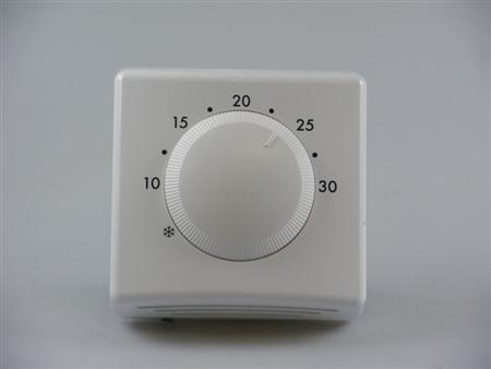 Winterwarm WWH thermostaat voor fancoilunit, wit, meetbereik 5 - 30C, max. spanning contacten 230V,Bekijk alle warmte afgifte