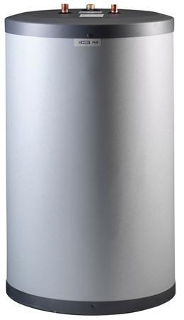Nibe PUB2 boiler indirectgestookt staand, (hxb) 1010x600mm, diameter 600mm, diepte 600mm, inhoud 160L, dubbele scheiding, vermogen 31kW, boilervat koper, warmteoverdracht spiraal, KIWA-keur, type PUB2, max. overdraagbare capaciteit 80/10 24kW, warmtewisselaar koper,