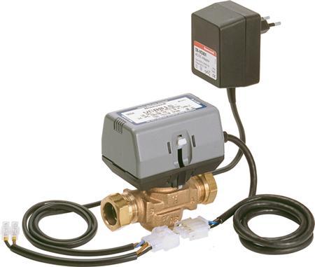Honeywell Home Y-VC Zone regeling elektr. bed. 2-wegregelafsluiter, huis brons, kwaliteitsklasse brons (Rg 5), nom. binnendiameter 3/4