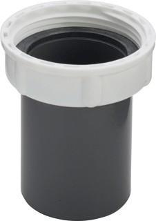 VIEGA PVC PLUGKOPP 1.1/2X40 MET WARTEL