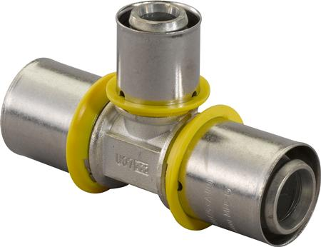 UPONOR MLC T-STUK 32-25-25MESSING GAS