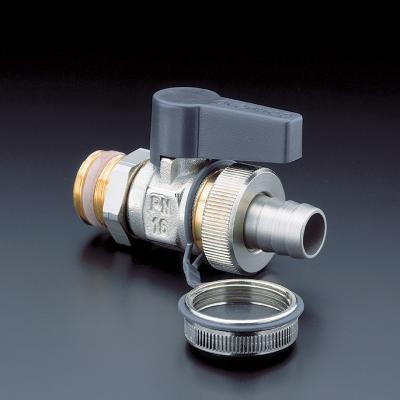 Oventrop Optiflex vul- en aftapkraan, lengte 91.5mm, nom. diameter aansluiting 1 3/4