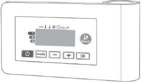 Vasco radiator accessoires, kunststof, wit, (bxd) 140x40mm, type toebehoren/onderdelen elektrisch element, oppervlaktebescherming gelakt, standaard kleur, RAL-nummer 9016, glansgraad mat