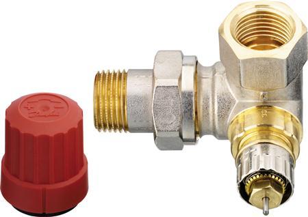 Danfoss RA-N radiatorafsluiter, maat leidingaansluiting 1/2