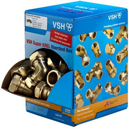 VSH BOX 20 KNIE 22X22MM K/G 0889317