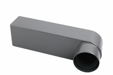 PVC STADSUITL. 70/80GRIJS