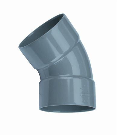 PVC BOCHT 110 45GR 2XMOF
