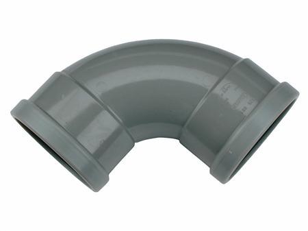 PVC BOCHT 125 90GR 2XMANCH