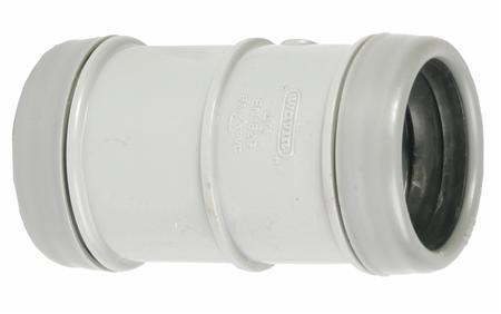 Wavin Wadal fitting met 2 aansluitingen 1-delig, lengte 1mm, recht, nom. diameter aansluiting 1 DN 32, aansluiting 1 schuifmof, uitwendige buisdiameter aansluiting 32mm, aansluiting 1 polyvinylchloride (PVC), kwaliteitsklasse aansluiting 1 PVC-U,Bekijk alle buis en fittingenBekijk alle fittingen met 2 aansluitingen