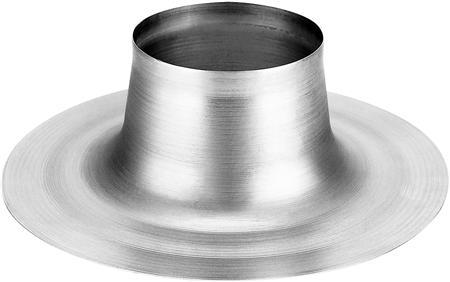 Burgerhout plakplaat universeel, hoogte 115mm, plakplaat aluminium, rond, diameter doorvoer 138mm, diameter plakplaat 320mm,Bekijk alle installatiematerialen verwarming
